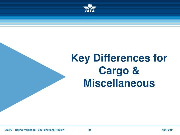 Key Differences for