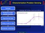 characterization predator sensing1