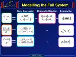 modelling the full system4