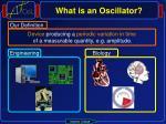 what is an oscillator