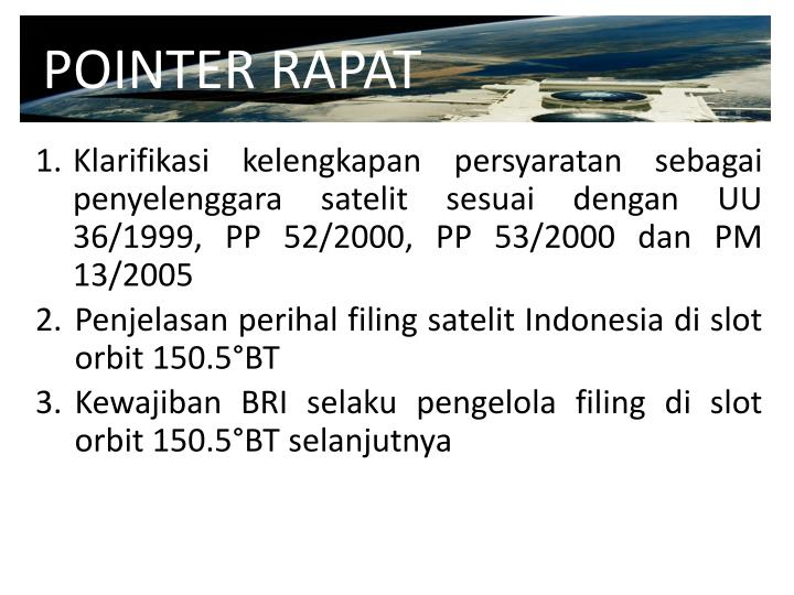 POINTER RAPAT