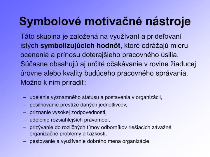 Symbolové motivačné
