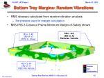 bottom tray margins random vibrations1