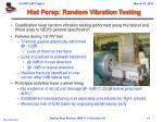 hist persp random vibration testing