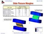 side flexure margins