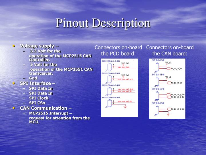 Pinout Description