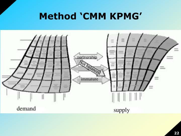 Method 'CMM KPMG'