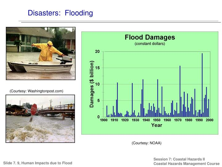 Disasters:  Flooding