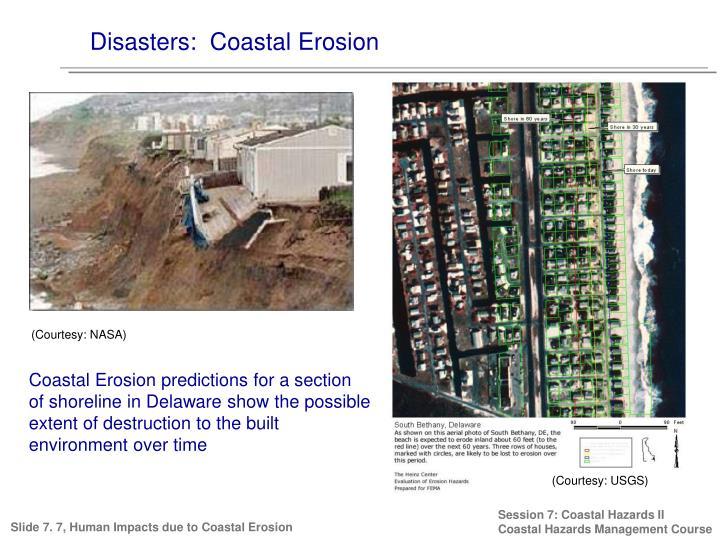 Disasters:  Coastal Erosion