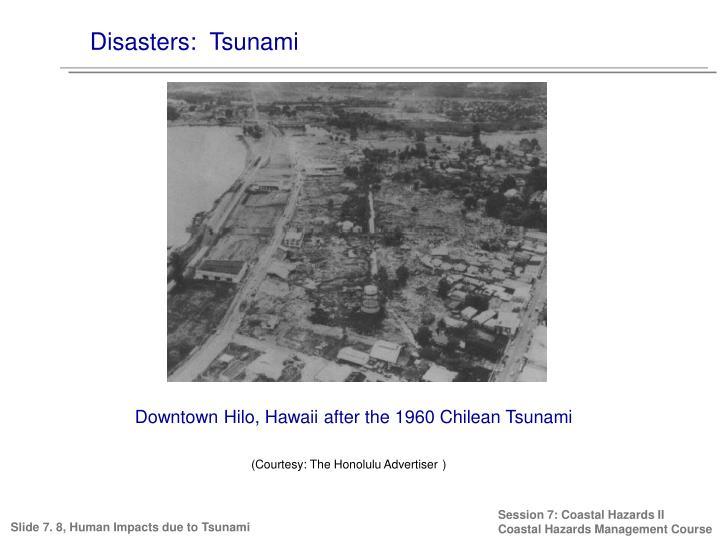 Disasters:  Tsunami