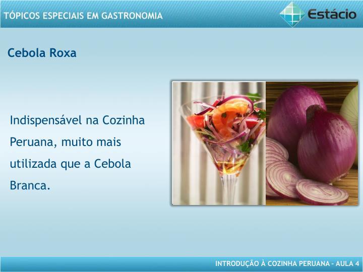 Cebola Roxa