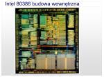 intel 80386 budowa wewn trzna