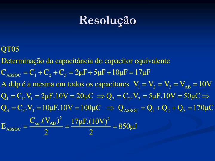 Resolução