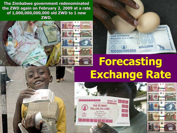 PPT - Forecasting Exchange Rate PowerPoint Presentation - ID:5730580