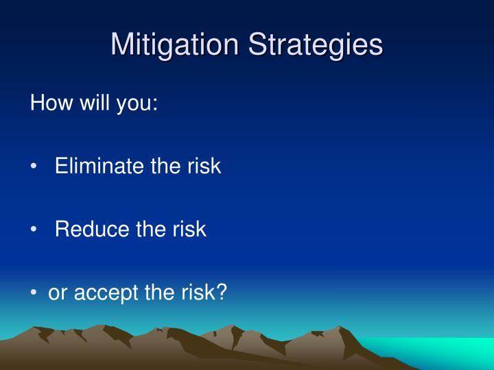Mitigation Strategies