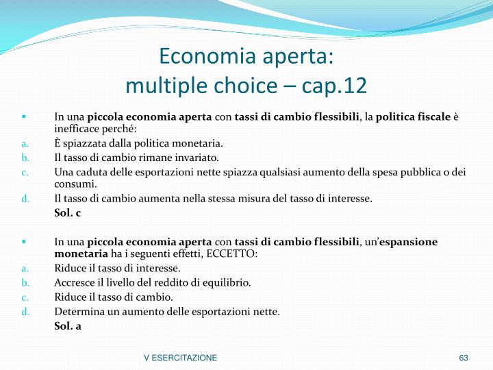 Economia aperta: