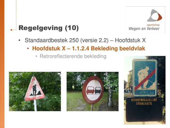 Regelgeving (10)