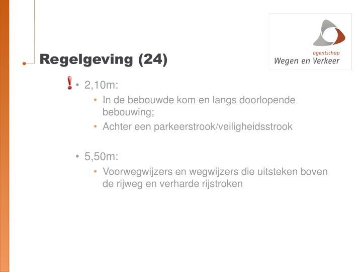 Regelgeving (24)
