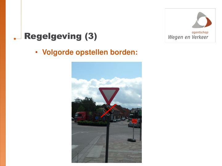 Regelgeving (3)