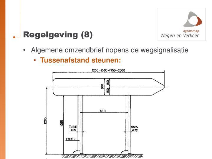 Regelgeving (8)