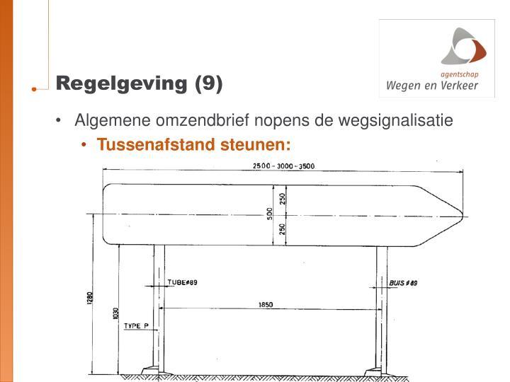 Regelgeving (9)