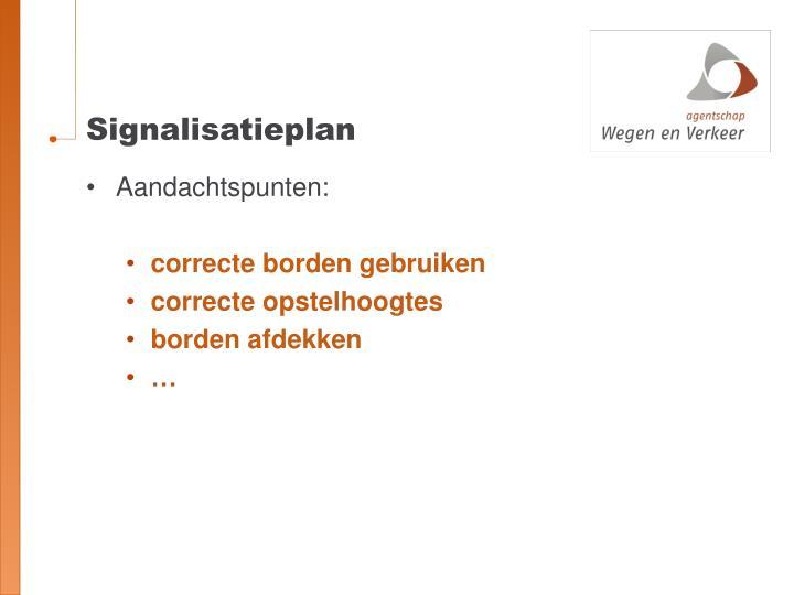 Signalisatieplan