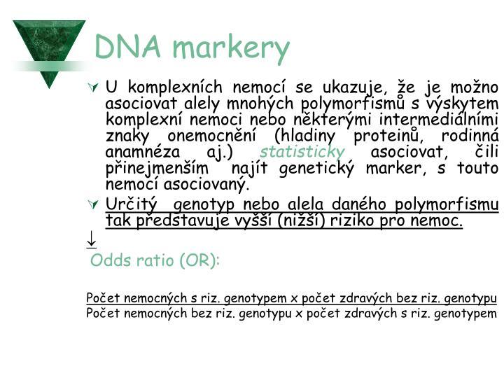 DNA markery