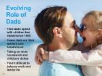 evolving role of dads