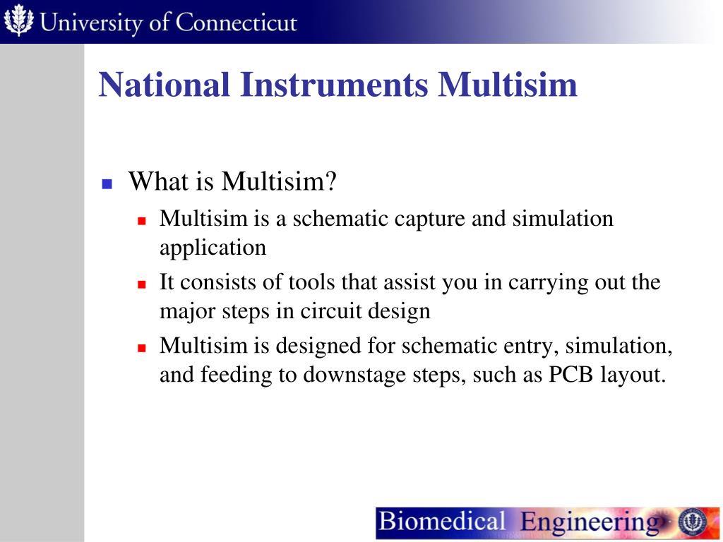 PPT - National Instruments Multisim PowerPoint Presentation - ID:5731574