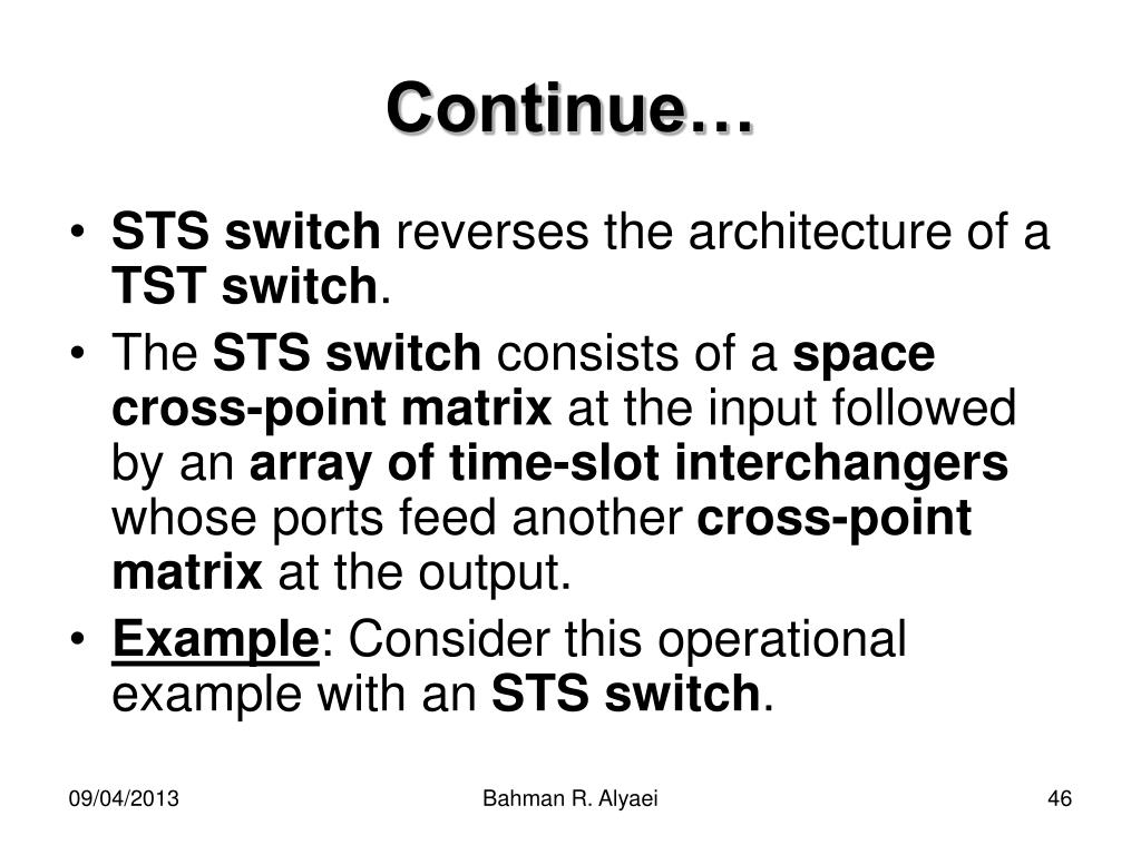 tst switch block diagram