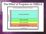 the effect of progress on dibels