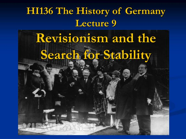 germany and the golden age of weimar Revision notes and sample essays for weimar germany weimar germany was the name given to the period of german history from.