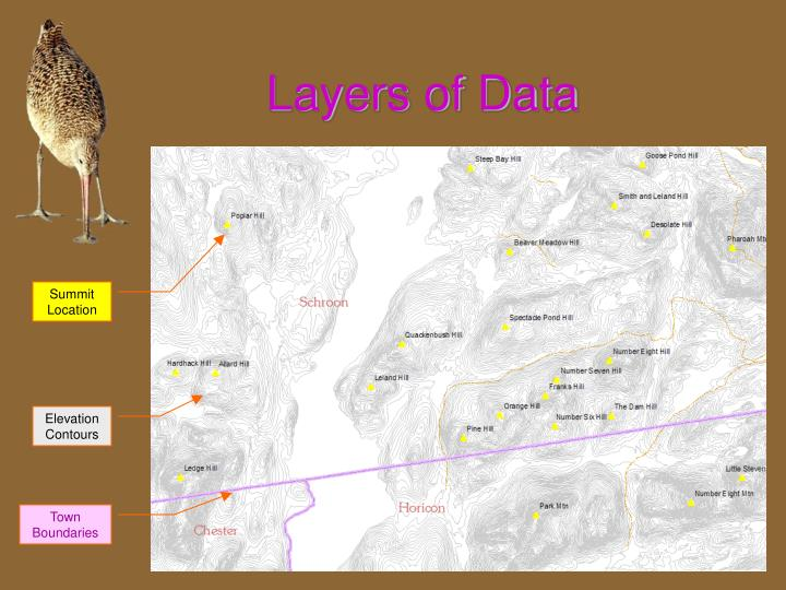 Layers of data