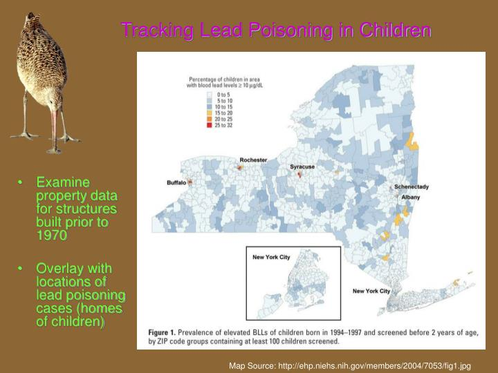 Tracking Lead Poisoning in Children