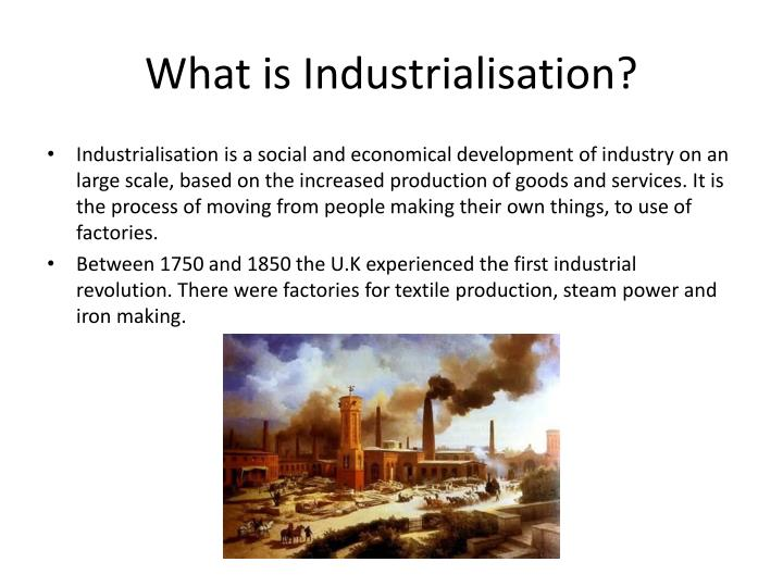 a research on industrialization Free industrialization papers, essays, and research papers these results are sorted by most relevant first (ranked search) you may also.
