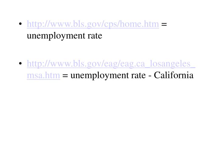 http://www.bls.gov/cps/home.htm