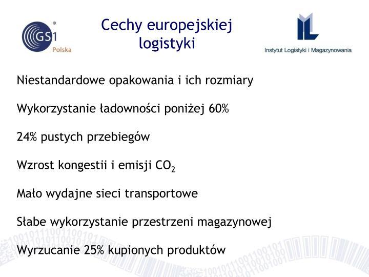 Cechy europejskiej logistyki