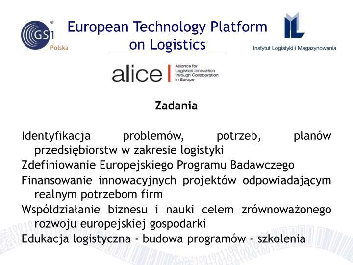 European Technology Platform