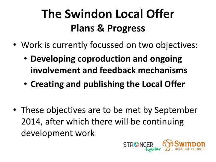 The Swindon Local Offer
