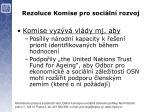 rezoluce komise pro soci ln rozvoj1