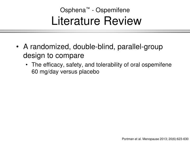Osphena reviews