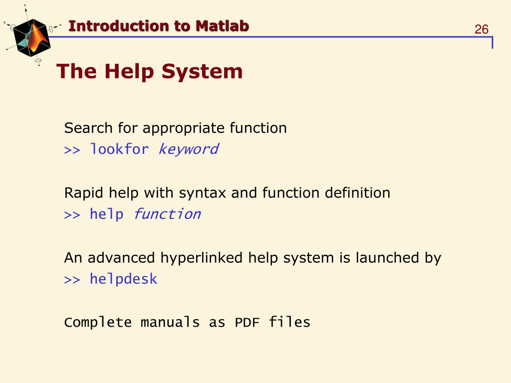 PPT - Introduction to Matlab PowerPoint Presentation - ID:5732863