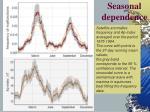 seasonal dependence1
