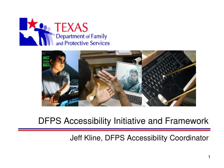 dfps accessibility initiative and framework n.