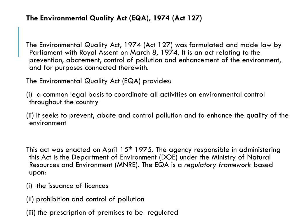 Ppt Eoh 3101 Principles Of Environmental Health Powerpoint Presentation Id 5733382