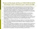 projeto de resolu o do parecer cne ceb 12 12 iv articula o entre os sistemas para a oferta de ead