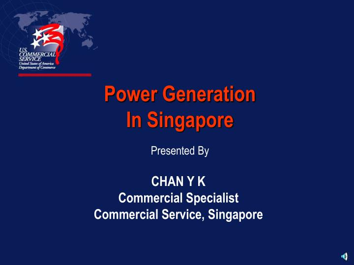 Power generation in singapore