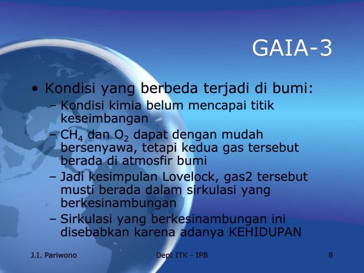 GAIA-3