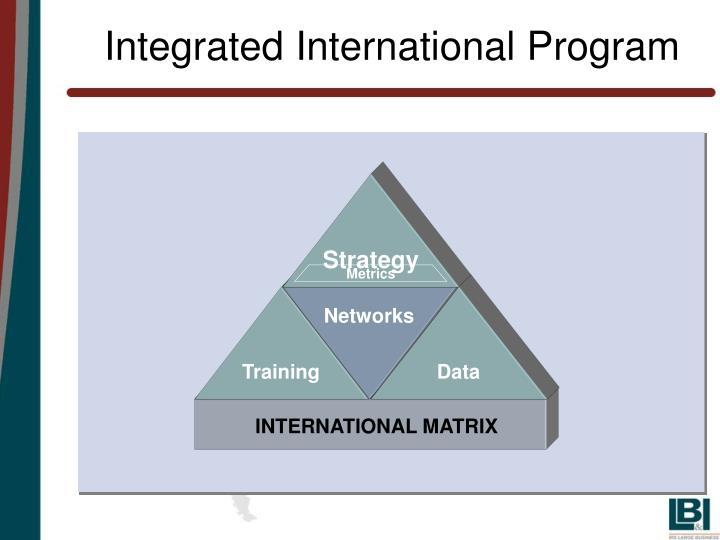 Integrated International Program