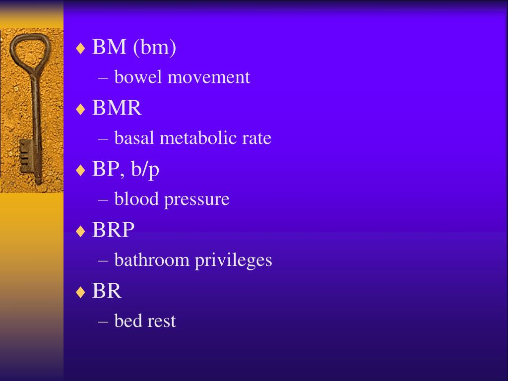 PPT - Medical Abbreviations PowerPoint Presentation, free ...